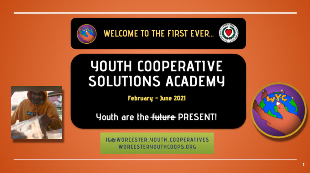 So It Begins! Youth Co-op Solutions Academy (YCSA) 2021